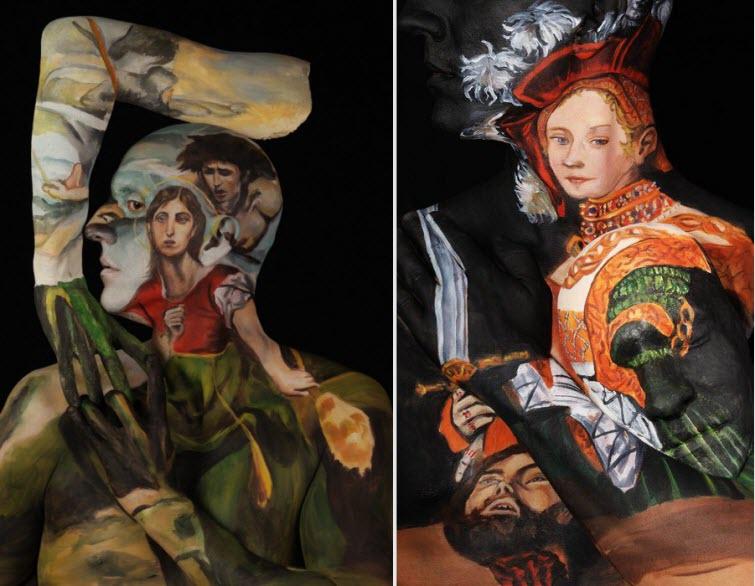 Chadwick & Spector's Museum Anatomy Paintings, Body Art 3