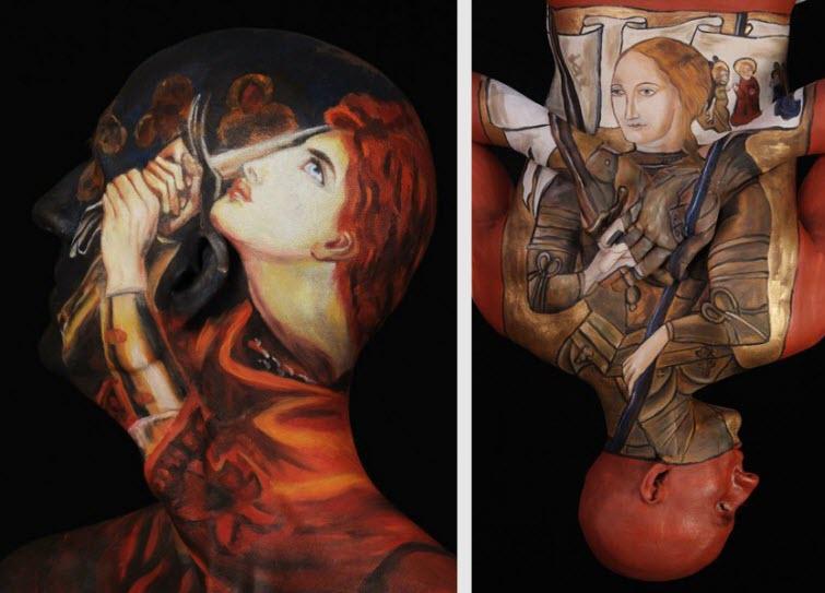 Chadwick & Spector's Museum Anatomy Paintings, Body Art 4