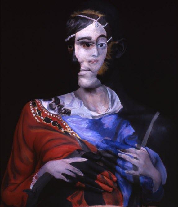 Chadwick & Spector's Museum Anatomy Paintings, Body Art 6