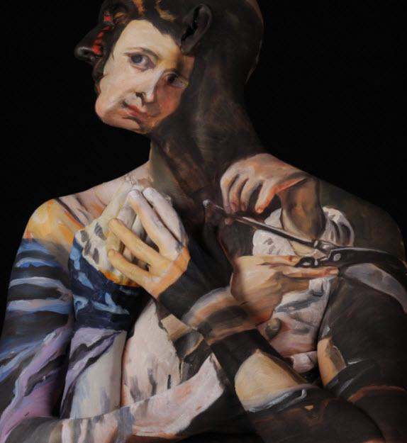 Chadwick & Spector's Museum Anatomy Paintings, Body Art 7