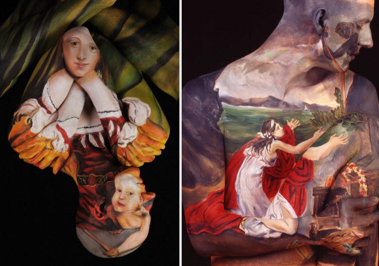 Chadwick Spectors Museum Anatomy Paintings Body Art