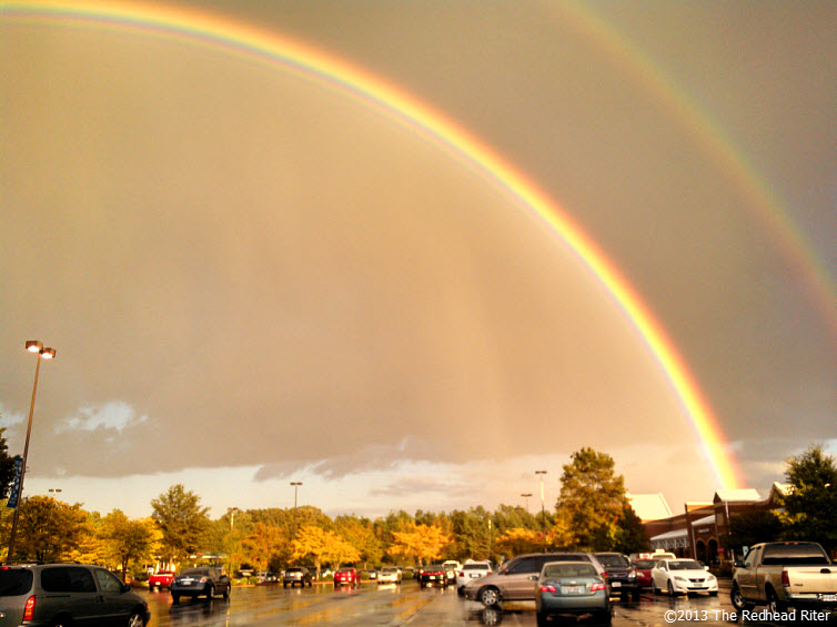 Double Rainbow And The Gold At The End 1