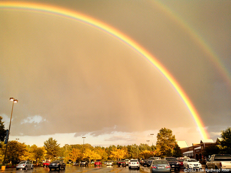 Double Rainbow And The Gold At The End 4