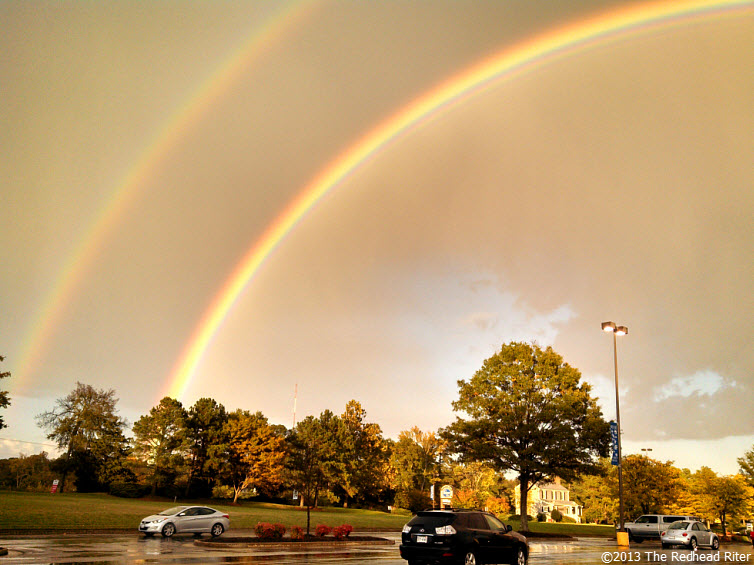 Double Rainbow And The Gold At The End 5