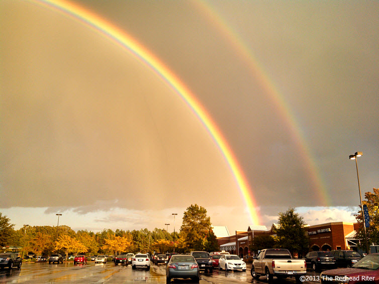 Double Rainbow And The Gold At The End 6