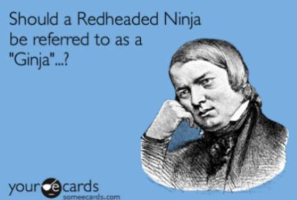 Funny Redhead Cartoon Ecards 2
