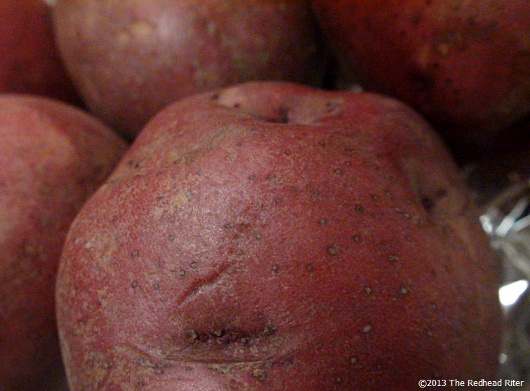 thanksgiving red potatoes creamed