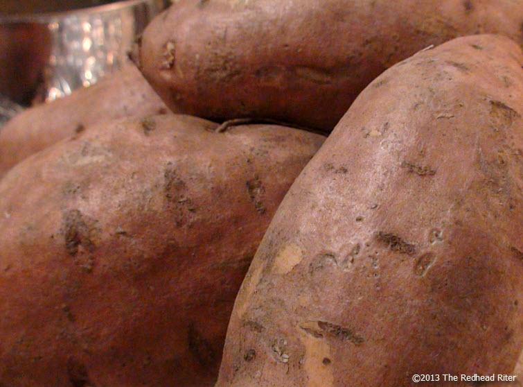 thanksgiving sweet potatoes baked