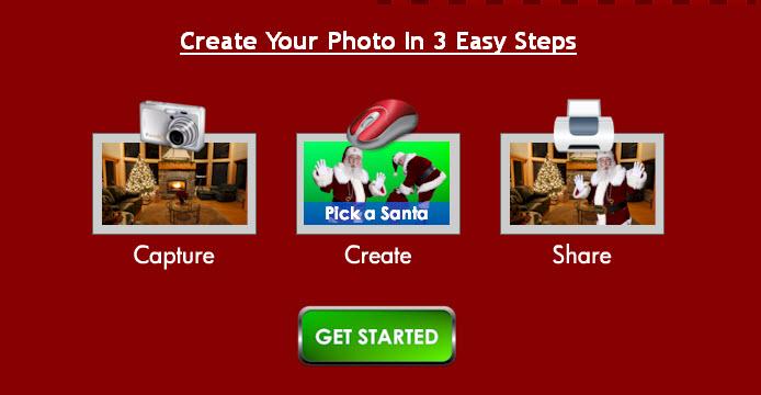 I caught santa in 3 easy steps