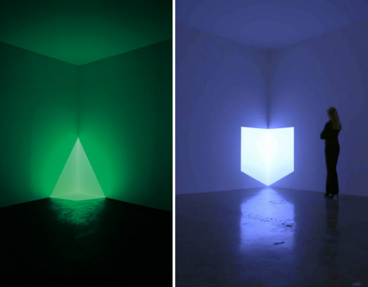 James Turrell light art Alta Green Munson Blue
