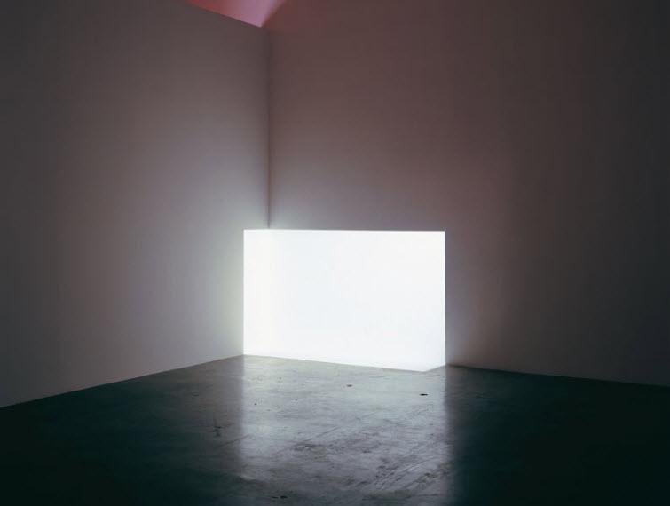 James Turrell light art Carn White