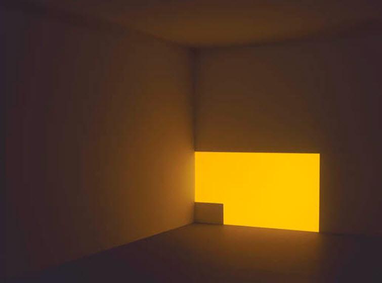 James Turrell light art Porter Powell Yellow