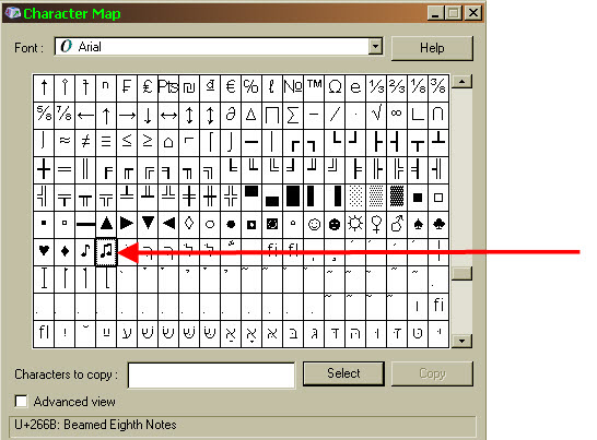 how to create special characters