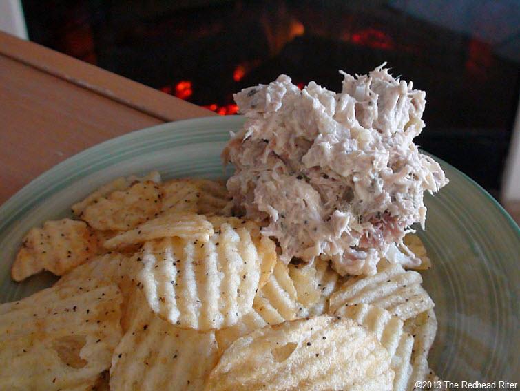 grain free potato chips turkey salad