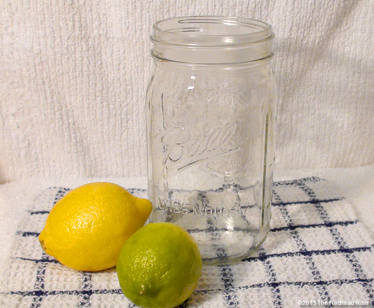 lemon lime mason jar - Best Homemade Natural Remedy Juice For Fighting Cold And Flu Sickness