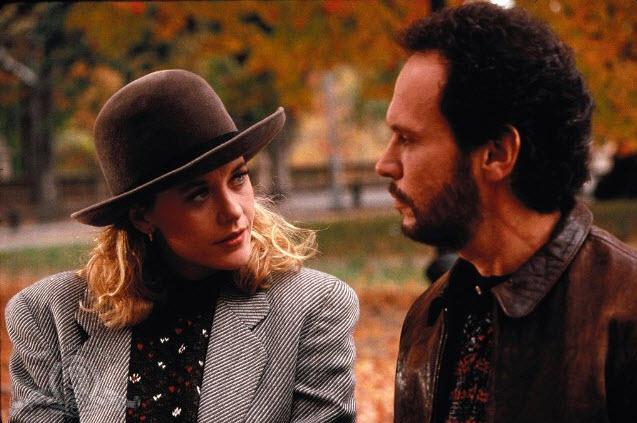 talking When Harry Met Sally Billy Crystal Meg Ryan