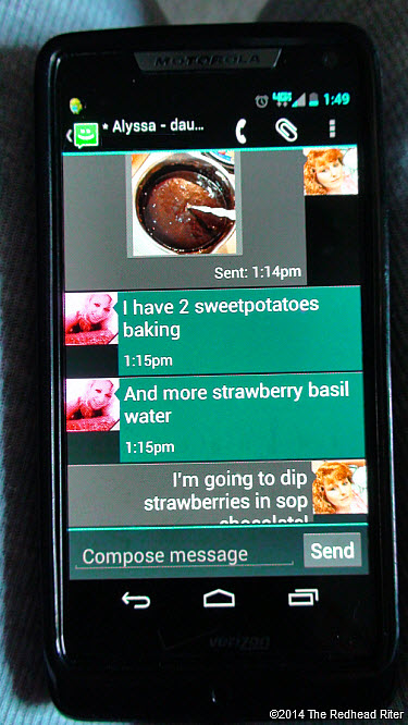 2 Life Messages In Chocolate Texts Redhead Sherry Riter