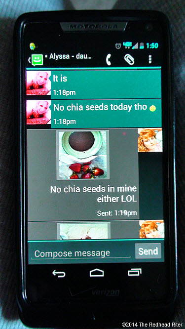 5 Life Messages In Chocolate Texts Redhead Sherry Riter