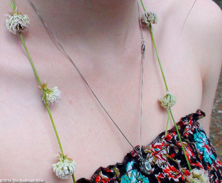 Alyssa's Clover Flower Necklace