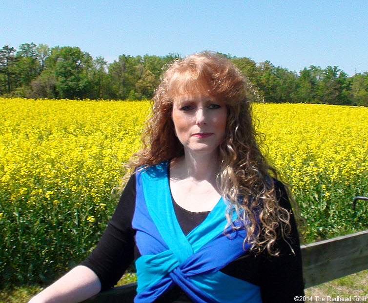 Sherry Redhead Riter Yellow Field Rapeseed Flowers Canola Oil  Richmond Virginia