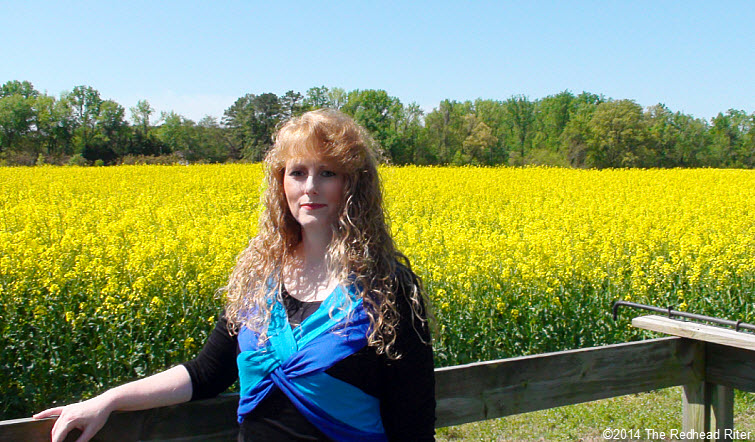 Sherry Redhead Riter Yellow Fields Rapeseed Flowers Canola Oil  Richmond Virginia