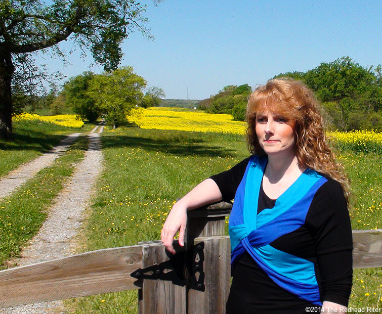 Sherry Redhead Riter Yellow Fields Rapeseed Flowers Canola Oil Road Richmond Virginia