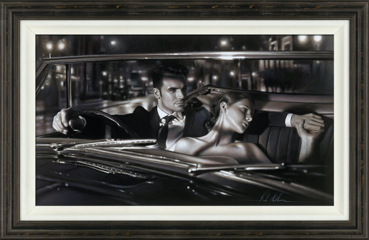True Romance Artist Ron Hefferans Photorealistic Glamorous Oil Paintings 03