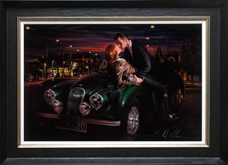 redhead True Romance Artist Ron Hefferans Photorealistic Glamorous Oil Paintings