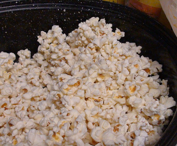 Edible Chocolate Covered Popcorn Bowl With Chocolate Candy Covered Popcorn Filling4