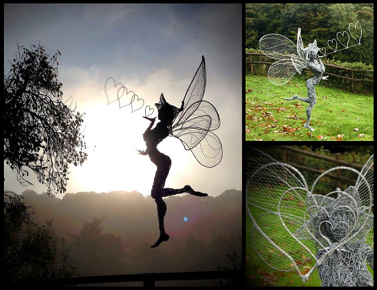 Fantasywire Robin Wight wire fairy kiss