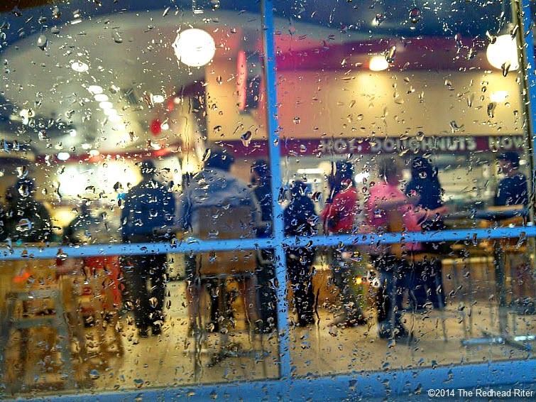 krispy kreme doughnuts rainy day