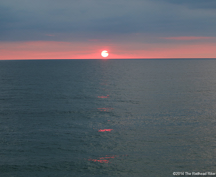 11 Outer Banks NC sunrise beach  2014-07-26 607am