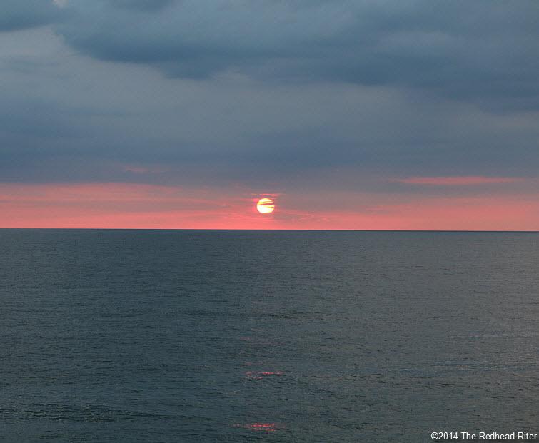 16 Outer Banks NC sunrise beach  2014-07-26 609am