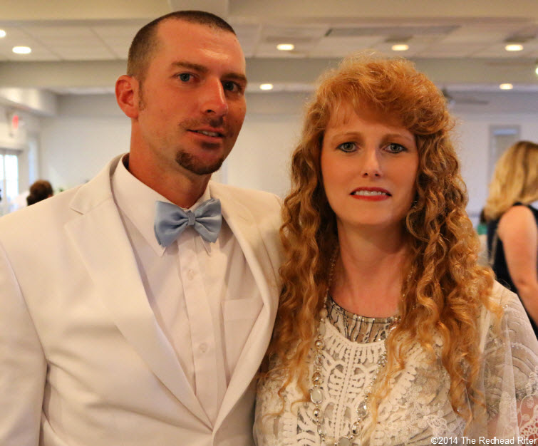 18 redhead riters brother Outer Banks Beach Wedding 1