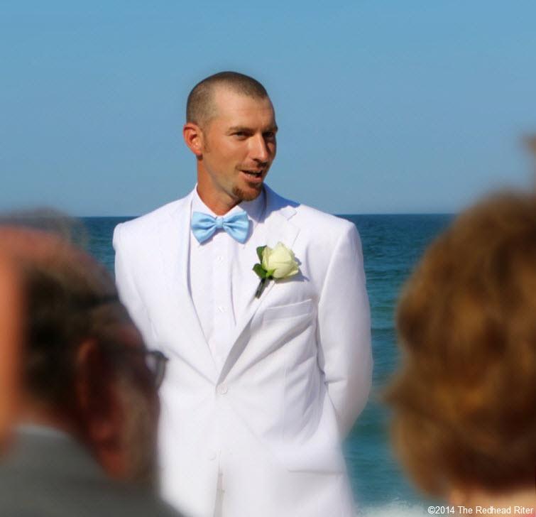 2 groom Outer Banks Beach Wedding