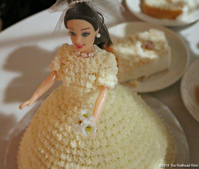 22 bride cake Outer Banks Beach Wedding reception 1