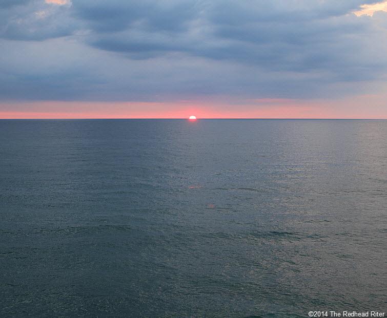 4 Outer Banks NC sunrise beach  2014-07-26 605am