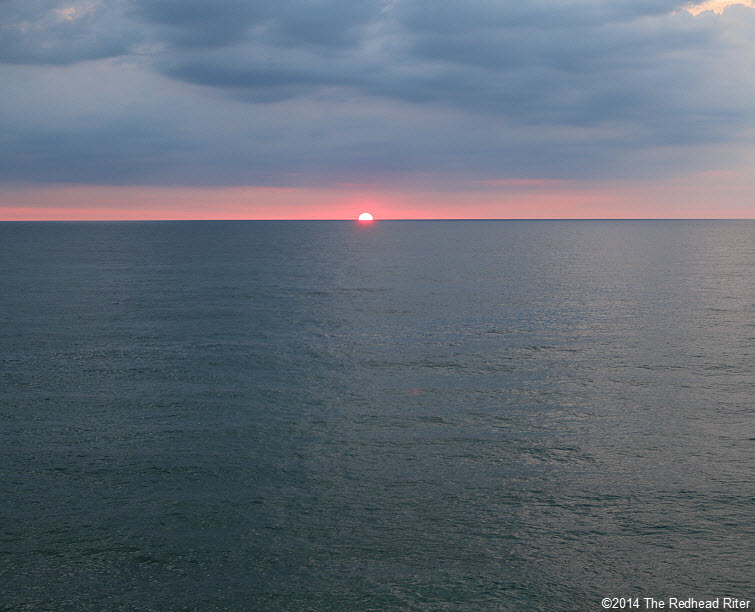 5 Outer Banks NC sunrise beach  2014-07-26 605am