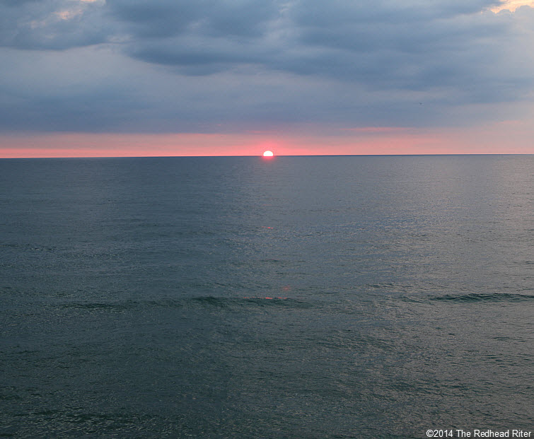 6 Outer Banks NC sunrise beach  2014-07-26 605am