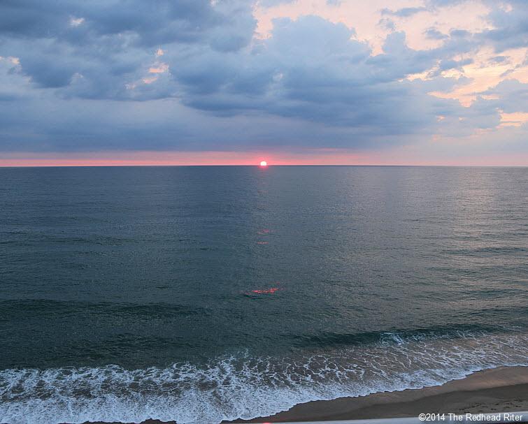 8 Outer Banks NC sunrise beach   2014-07-26 606am