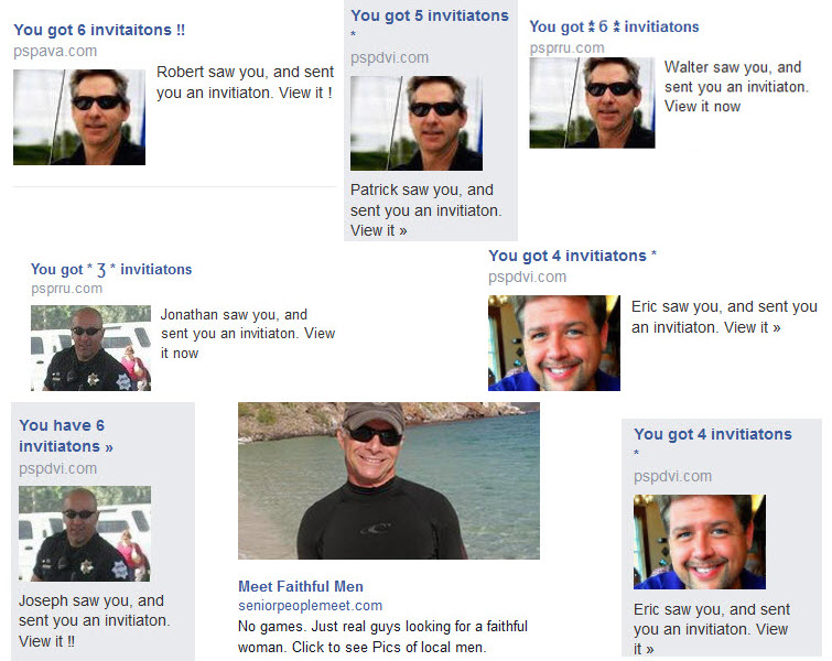 duplicate single men facebook ads privacy issues