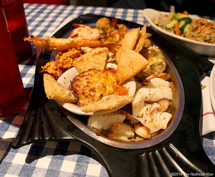 sampler Dirty Dick's Crab House Restaurant, Nags Head, NC