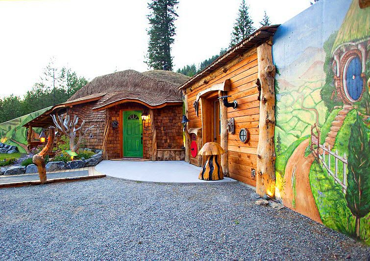 The Shire Of Montana - Real Hobbit House In MT 12