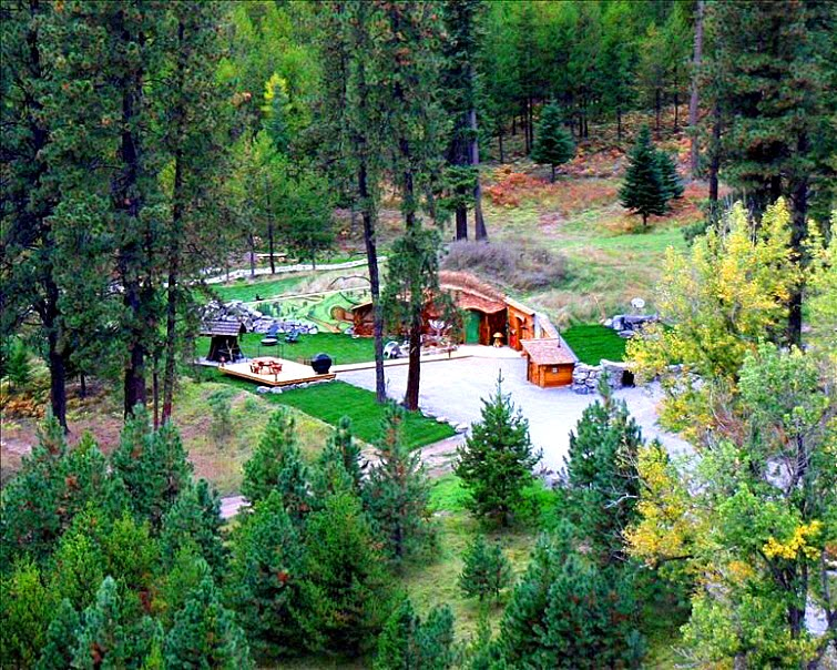 The Shire Of Montana - Real Hobbit House In MT 9